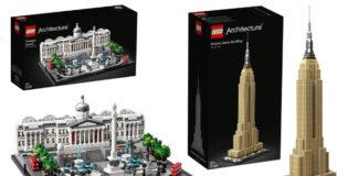 Visuals LEGO Architecture sets zomer 2019