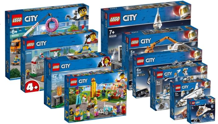Nieuws] Visuals LEGO City sets zomer 2019 - Bouwsteentjes info