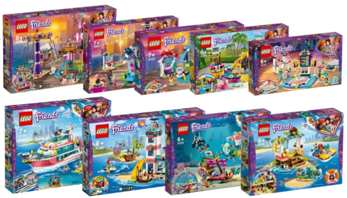 Visuals LEGO Friends sets zomer 2019 (1)