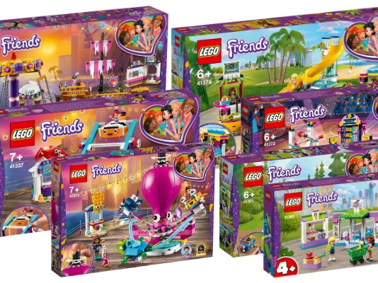 Visuals LEGO Friends sets zomer 2019