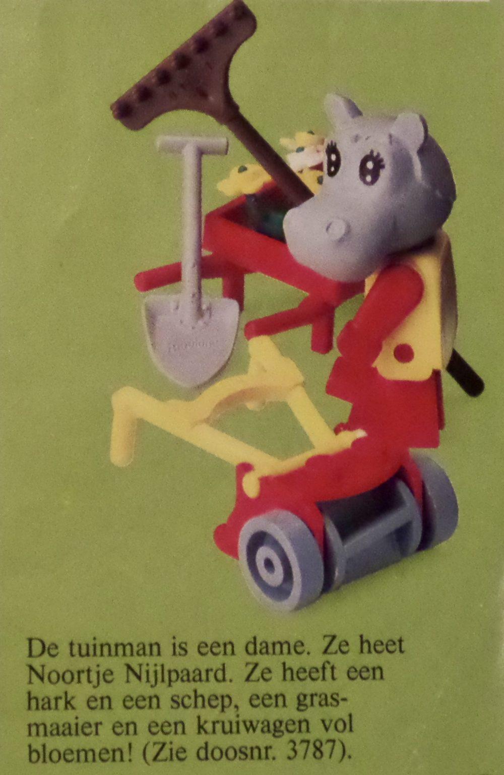 LEGO Fabuland 3787 Hannah Hippopotamus the public gardener