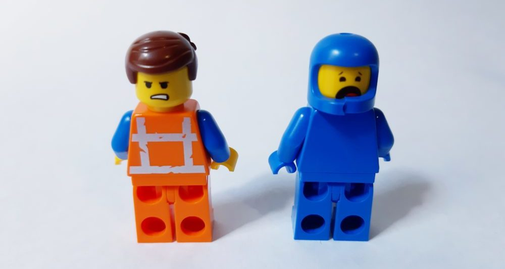 LEGO TLM2 70821 Emmet and Benny
