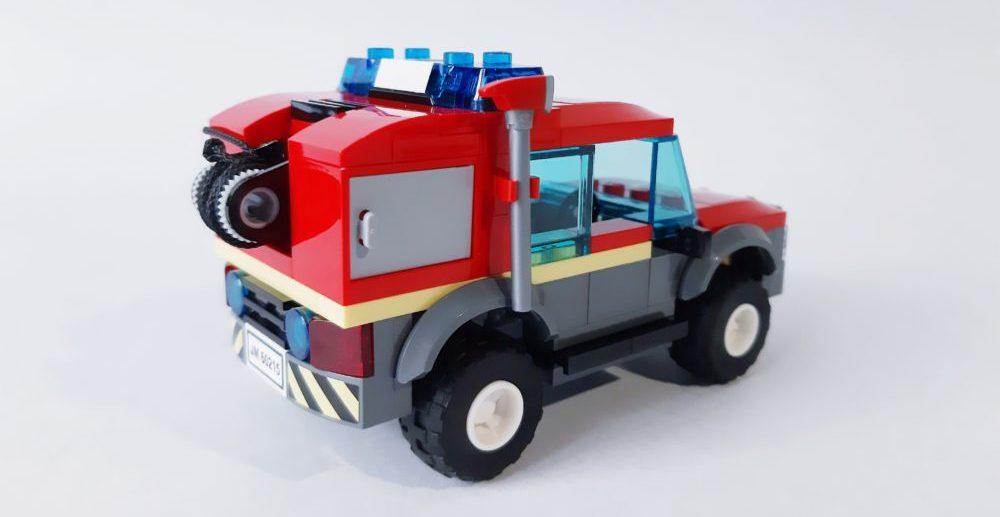 LEGO City 60215 Truck back