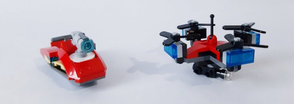 LEGO City 60215 drone jetski