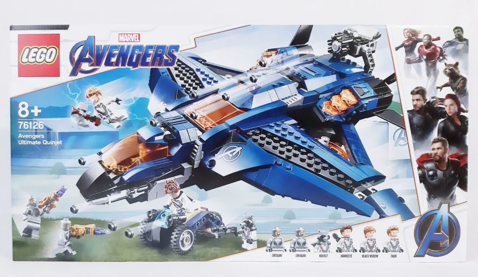 LEGO Marvel 76126 Avengers Ultimate Quinjet