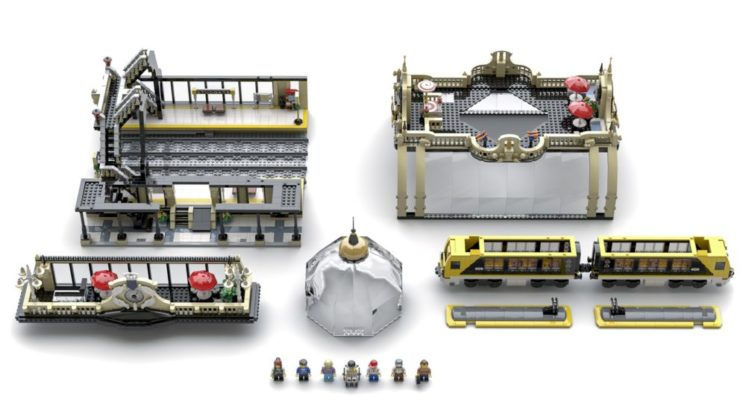 LEGO Ideas The Train Station: Studgate