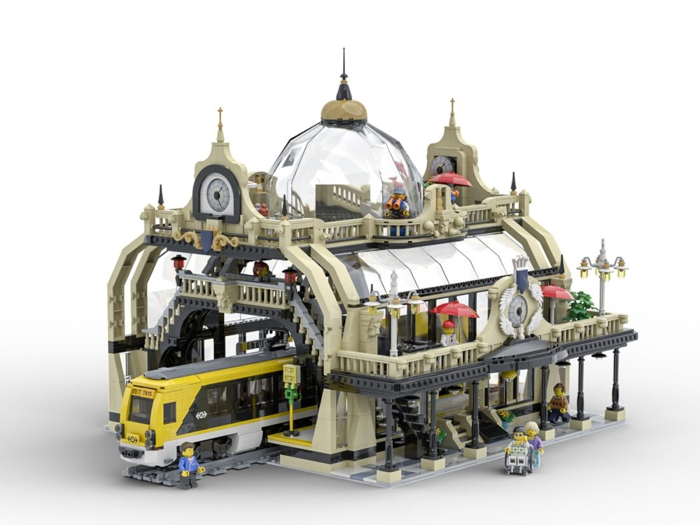 LEGO Ideas The Train Station: Stutgate