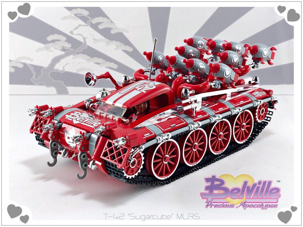 Belville T-42 Sugercube MLRS