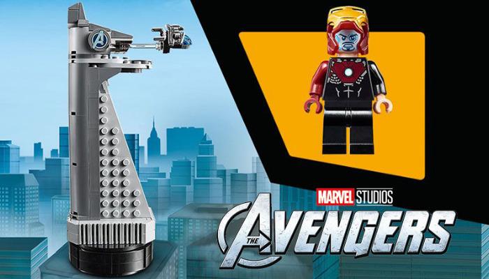 Gratis LEGO 40334 Avengers Tower
