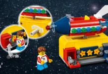 Gratis LEGO 40335 Space Rocket Ride