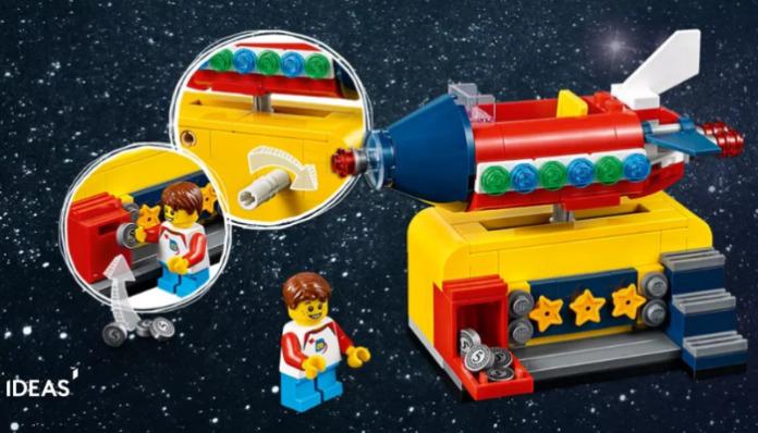 Gratis LEGO 40335 Space Rocket Ride