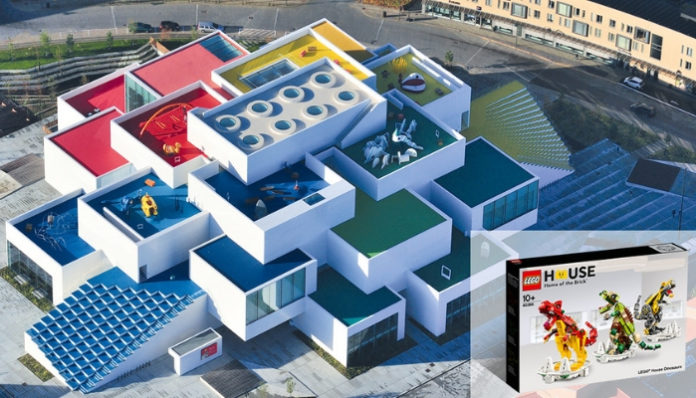 Help decorate the LEGO House!