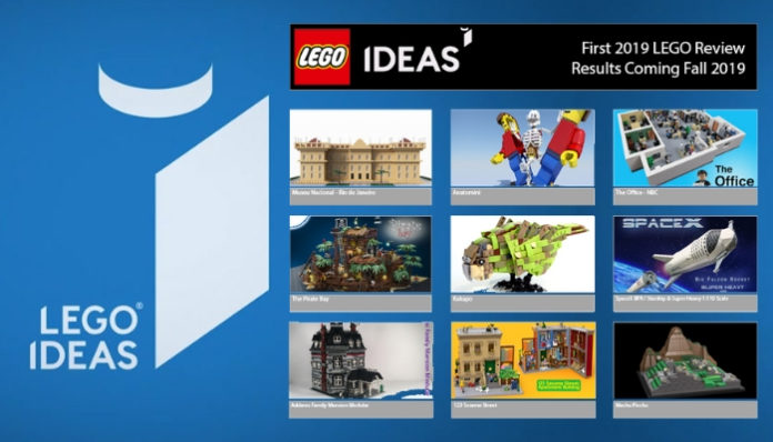 Kandidaten eerste LEGO review 2019
