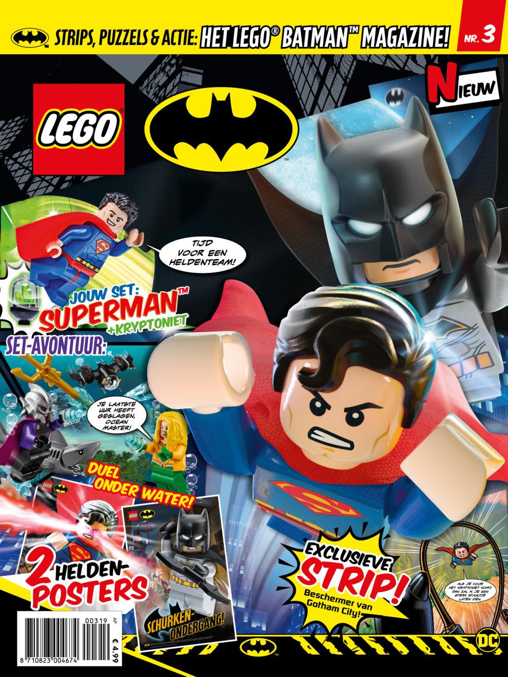 LEGO Batman magazine nummer 3 2019
