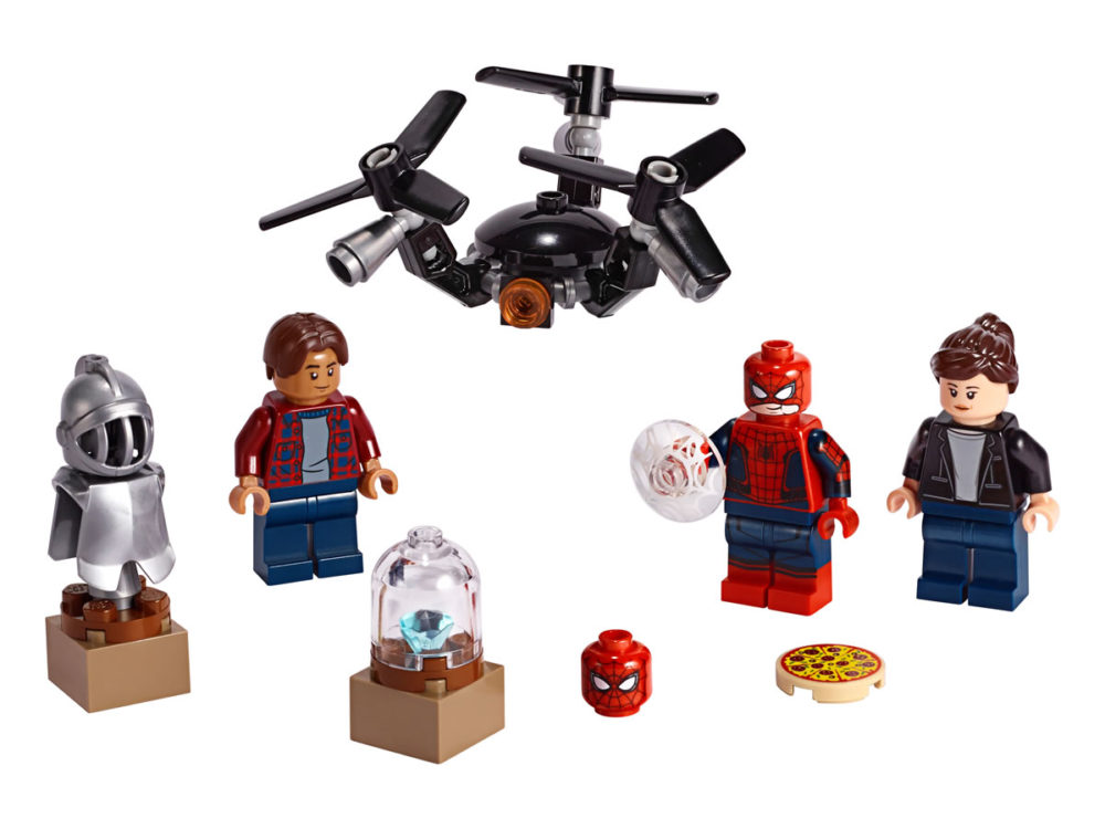 LEGO 40343 Spider-Man Character Pack