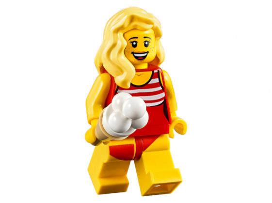 LEGO Female Minifigure Summer Outfit