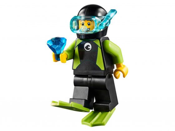 LEGO Male Minifigure Diver