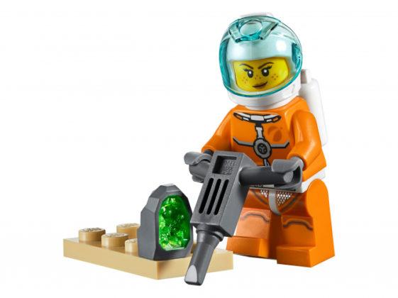 Female Research Minifigure