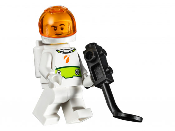 Male Research Minifigure