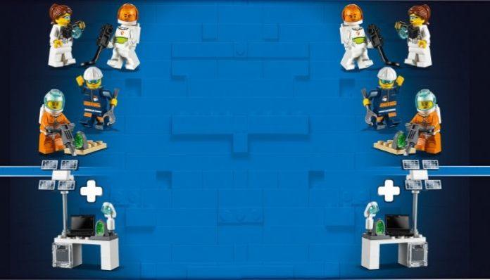 LEGO 40345 Mars Exploration Pack header