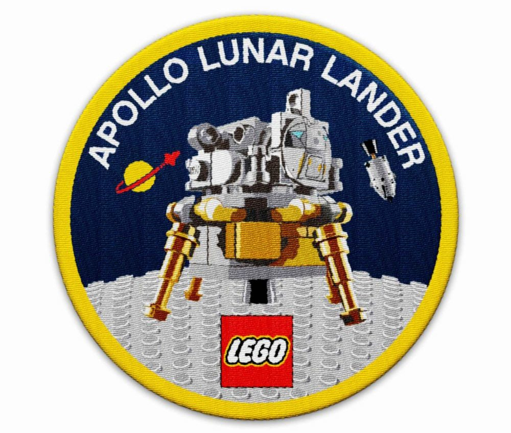 LEGO 5005907 Apollo Lunar Lander Patch