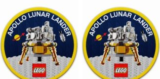 LEGO 5005907 Apollo Lunar Lander Patch
