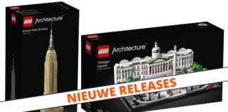 LEGO Architecture zomer 2019 sets