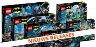 LEGO Batman zomer 2019 sets