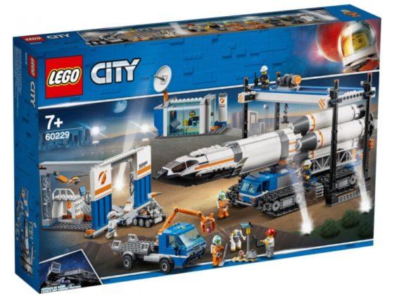 LEGO City 60229 Mars Exploration Rocket Transport