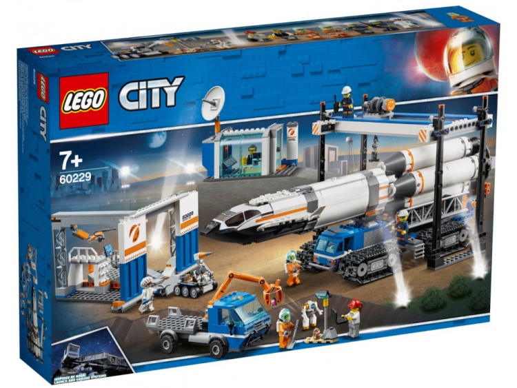 LEGO City 60229 Mars Exploration Rocket Transport