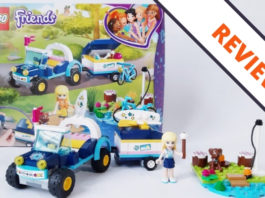 LEGO Friends 41364 Stephanie's Buggy and Trailer