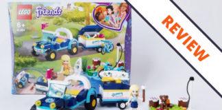 LEGO Friends 41364 Stephanie's Buggy and Trailer
