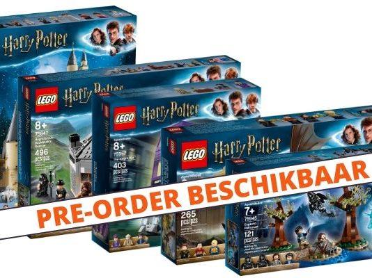 LEGO Harry Potter Pre-Order beschikbaar