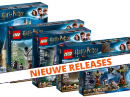LEGO Harry Potter verkrijgbaar
