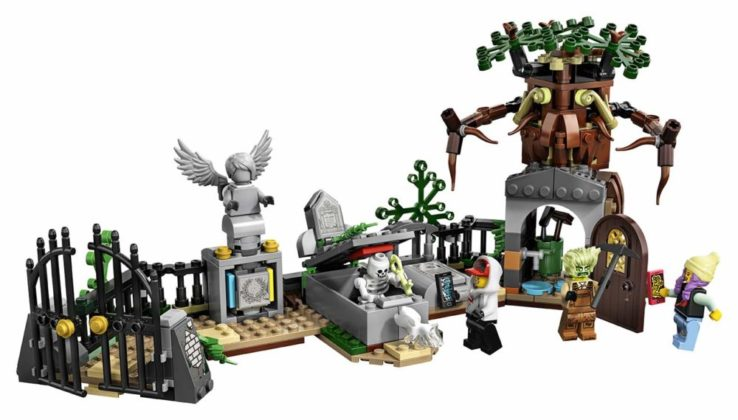 LEGO Hidden Side 70420 Graveyard