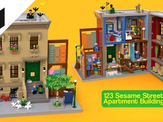 LEGO Ideas 123 Sesame Street bereikt 10.000 supporters