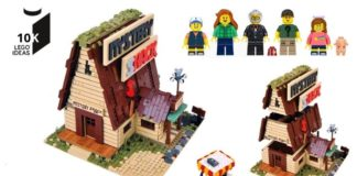 LEGO Ideas Gravity Falls Mystery Shack bereikt 10.000 supporters