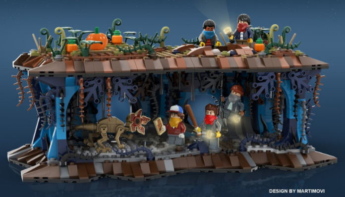 LEGO Ideas Iconically Stranger Things!