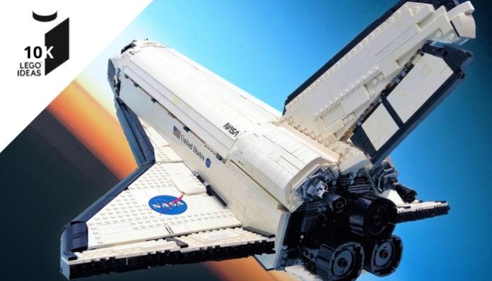 LEGO Ideas Space Shuttle Atlantis