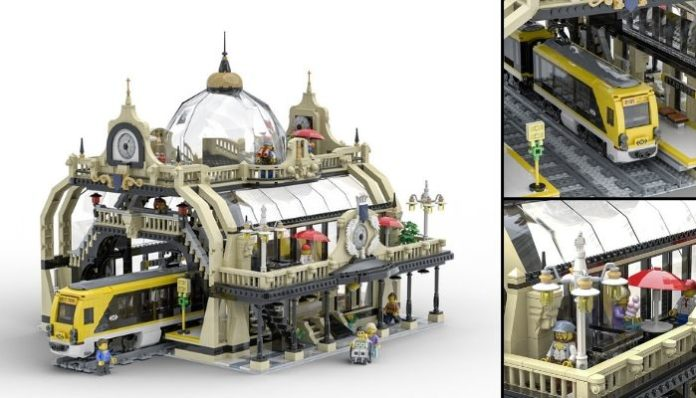 LEGO Ideas The Train Station_ Studgate