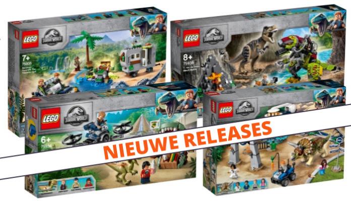 LEGO Jurassic World zomer 2019 sets