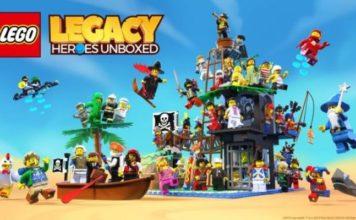 LEGO Legacy Heroes Unboxed