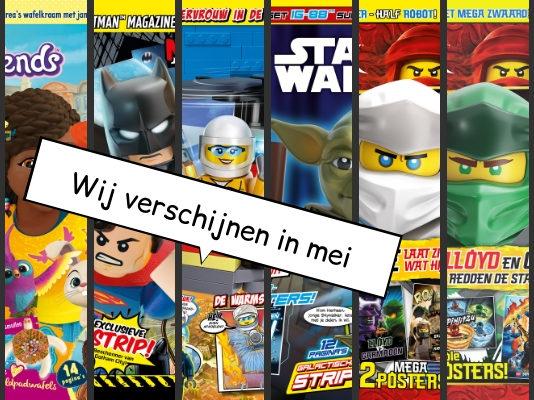 LEGO Magazines en boeken mei 2019