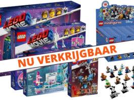 LEGO Movie 2 en Disney CMF 2 verkrijgbaar