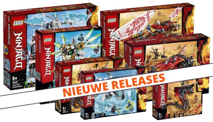 LEGO Ninjago zomer 2019 sets