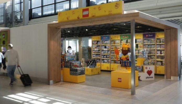 LEGO Pop-Up Store Schiphol