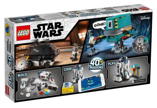 LEGO Star Wars 75253 BOOST Droid Commander Box back