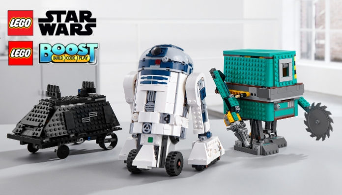 LEGO Star Wars 75253 BOOST Droid Commander aangekondigd