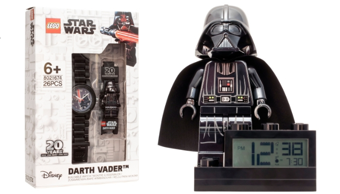 LEGO Star Wars Darth Vader Watch and Clock