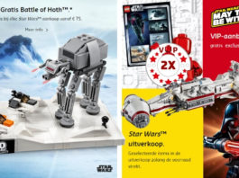 LEGO Star Wars May the 4th promoties 2019